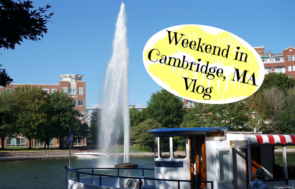 Weekend in Cambridge MA Vlog: Cocktails, Comedy, & a Sephora Haul