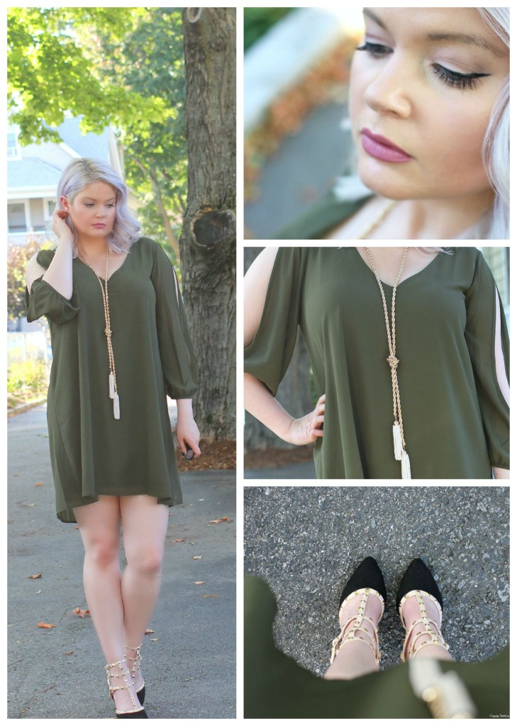 Green Dress Collage