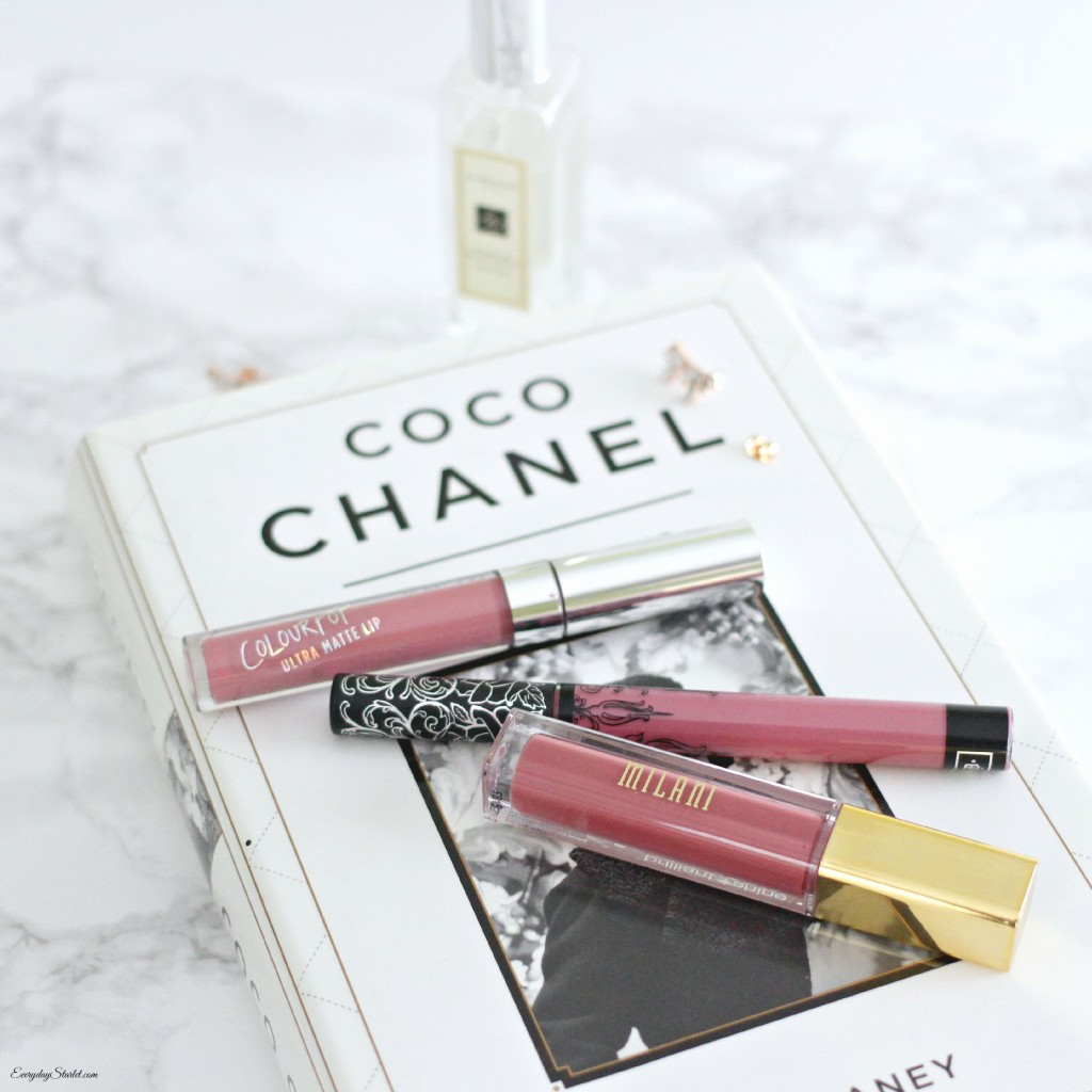 Liquid Lipstick Review Update: Colour Pop, Milani, sephora, Kat Von D