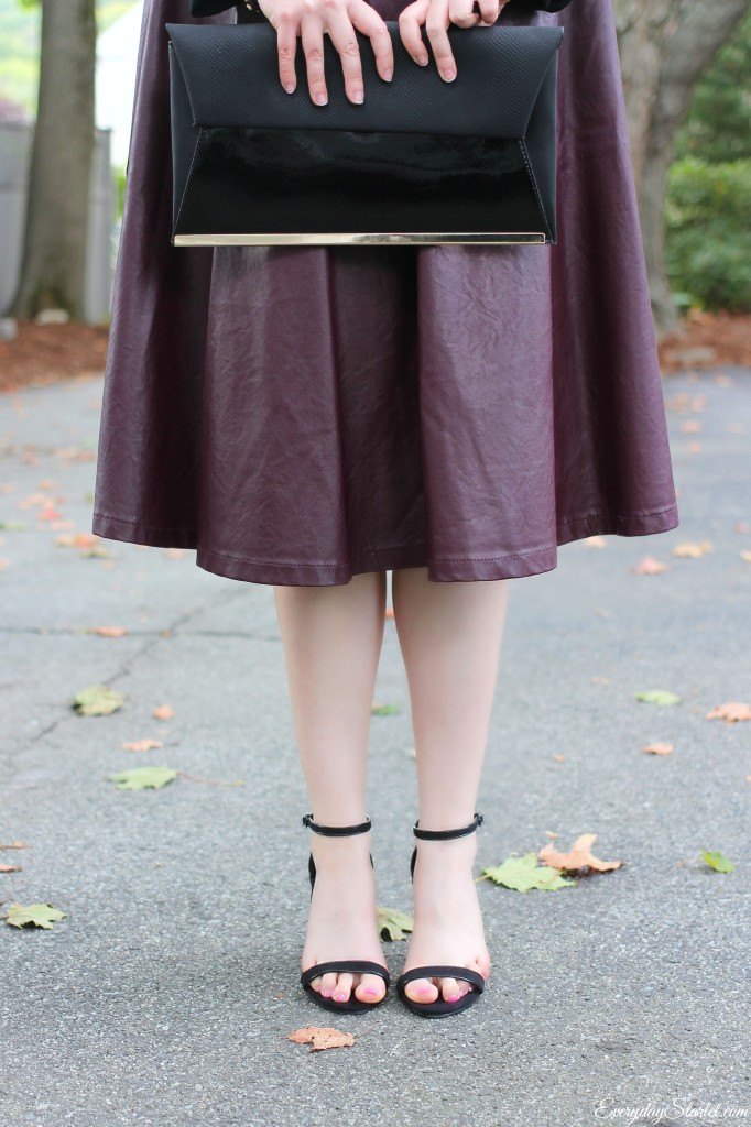 Off The Shoulder Fall Skirt