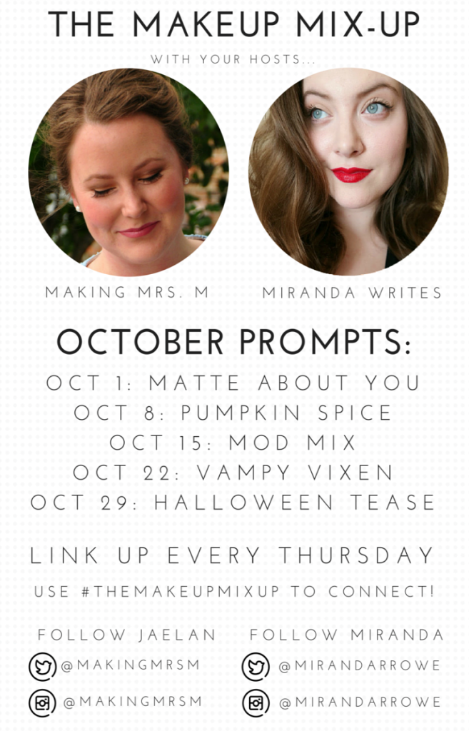 The Makeup Mix-Up October Prompts