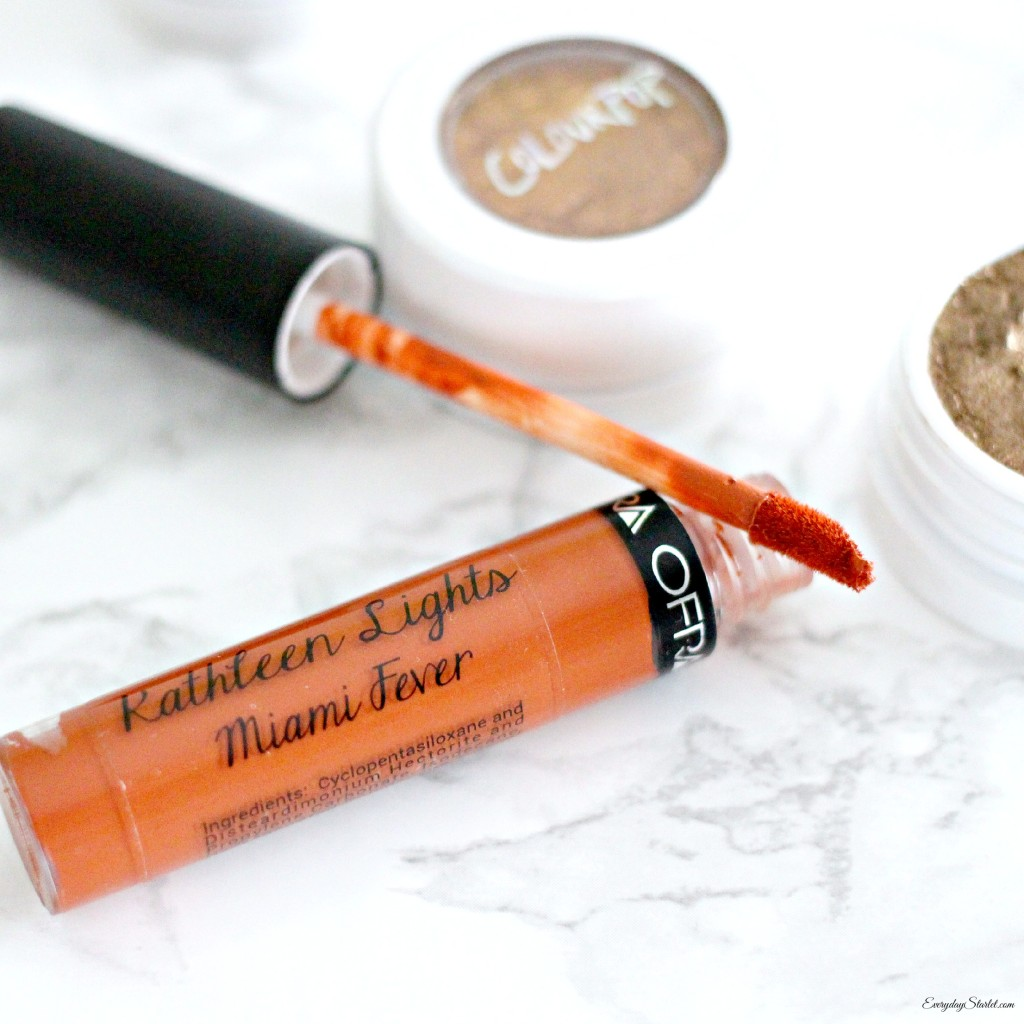 Pumpkin Spice Makeup Look... and a Kathleen Lights Ofra Miami Fever Review