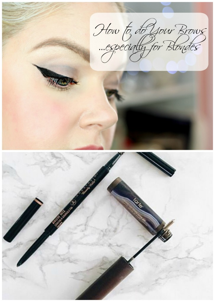 Tips for Perfect EyeBrows... especially for Blondes - EverydayStarlet.com @SarahBlodgett