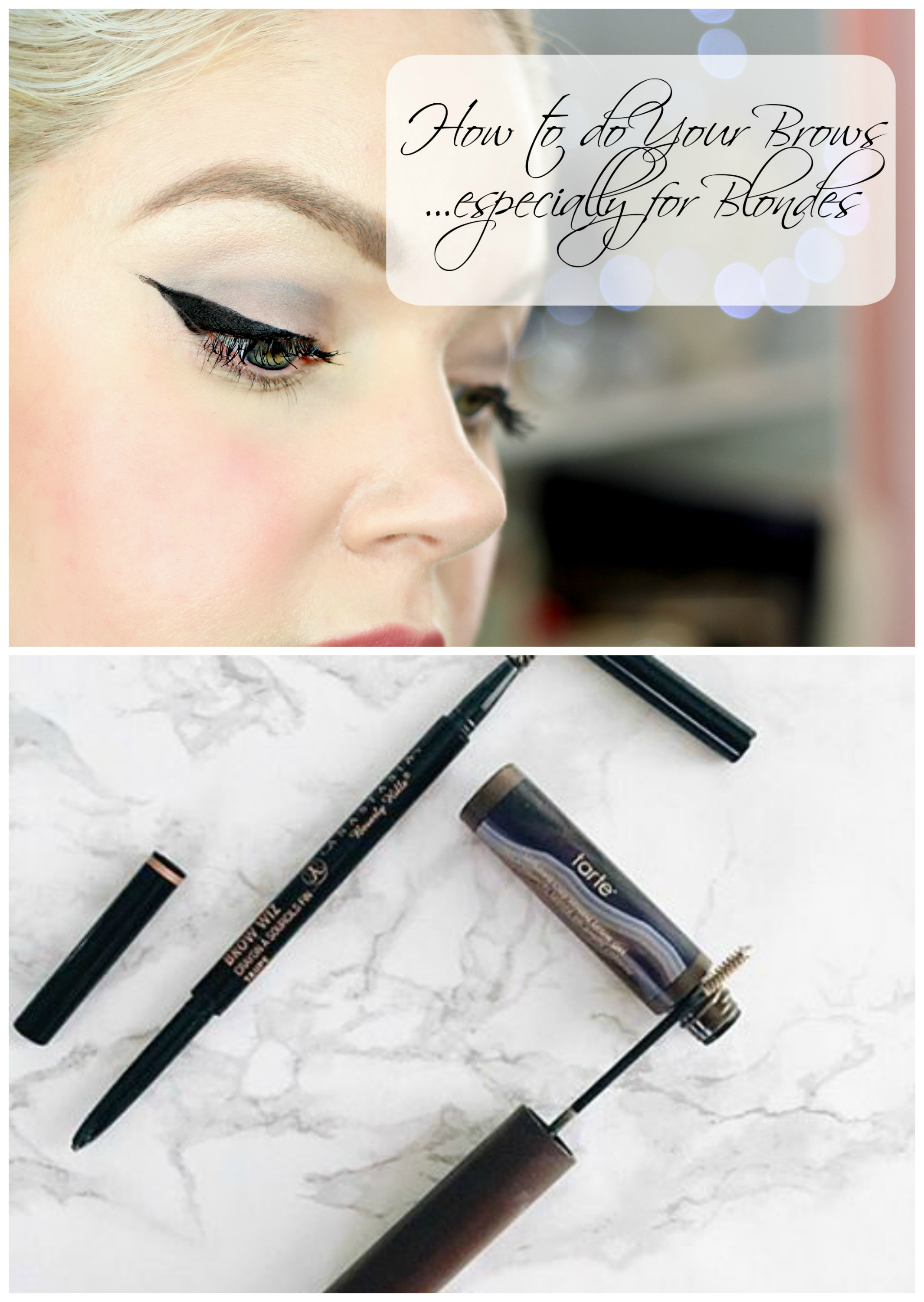 Tips For Perfect Eyebrows Especially For Blondes
