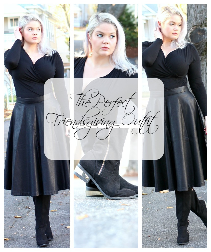 Recipe for the Perfect Friendsgiving Outfit - EverydayStarlet.com @SarahBlodgett