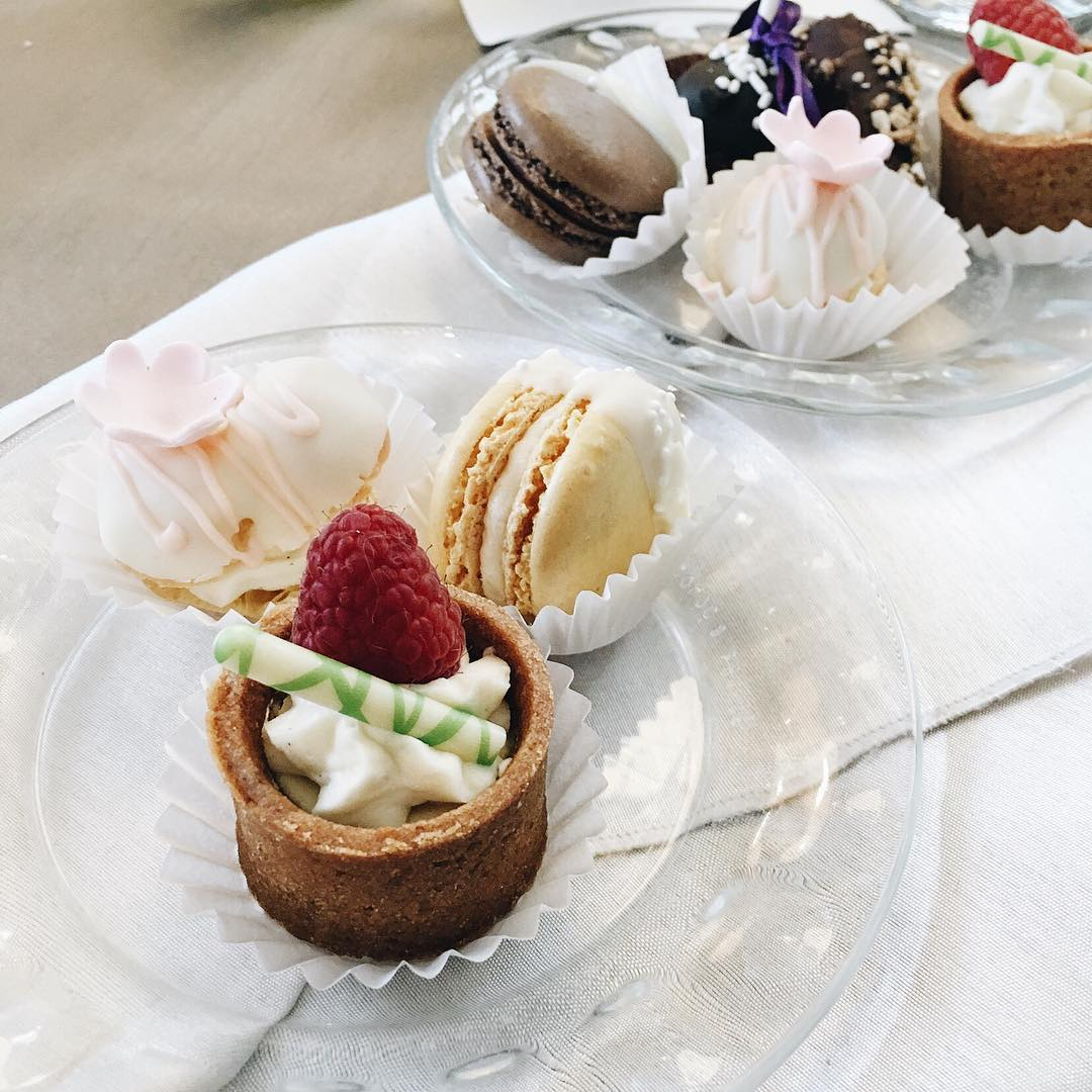 Wedding food tasting today w pedwardtherien may just have desserthellip