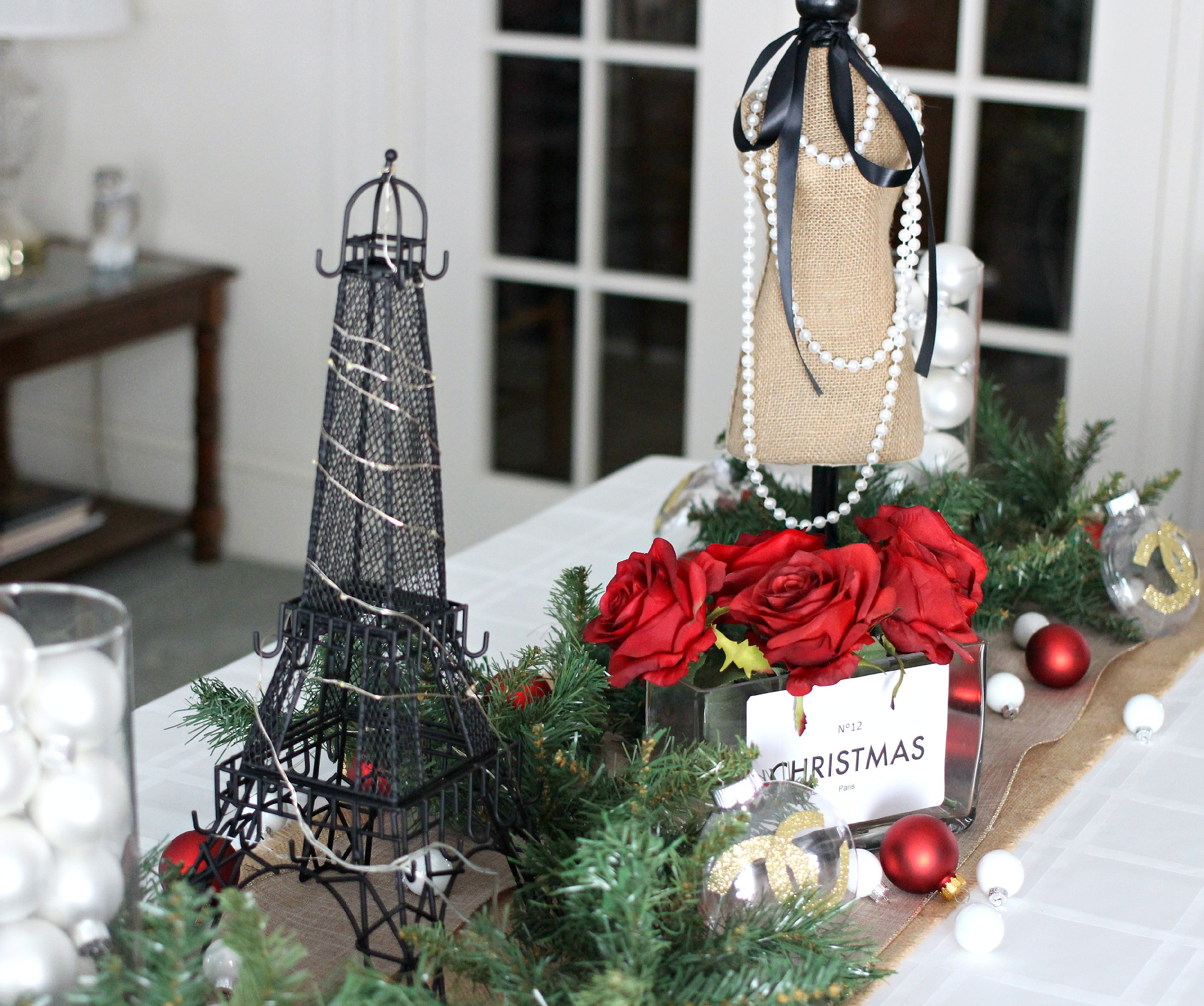 Chanel Christmas In Paris Tablescape Everyday Starlet