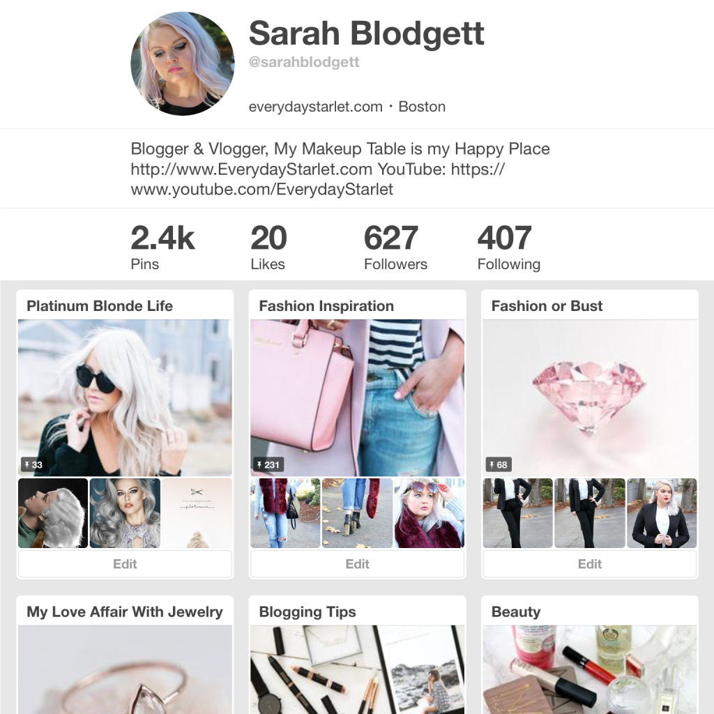 Most Popular Pinterest of 2015 - EverydayStarlet.com @SarahBlodgett
