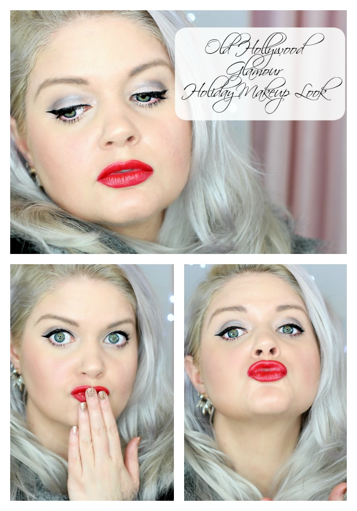 Old Hollywood Glamour Holiday Makeup Look - EverydayStarlet.com @SarahBlodgett