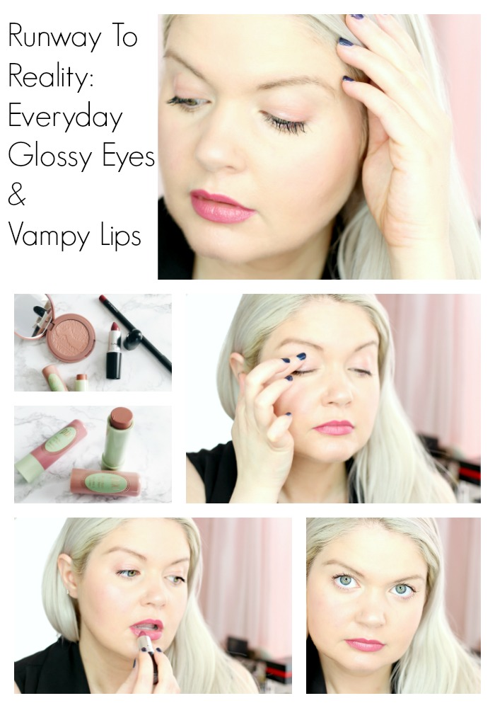 Spring Trends 2016: Everyday Glossy Eyes & Vampy Lips