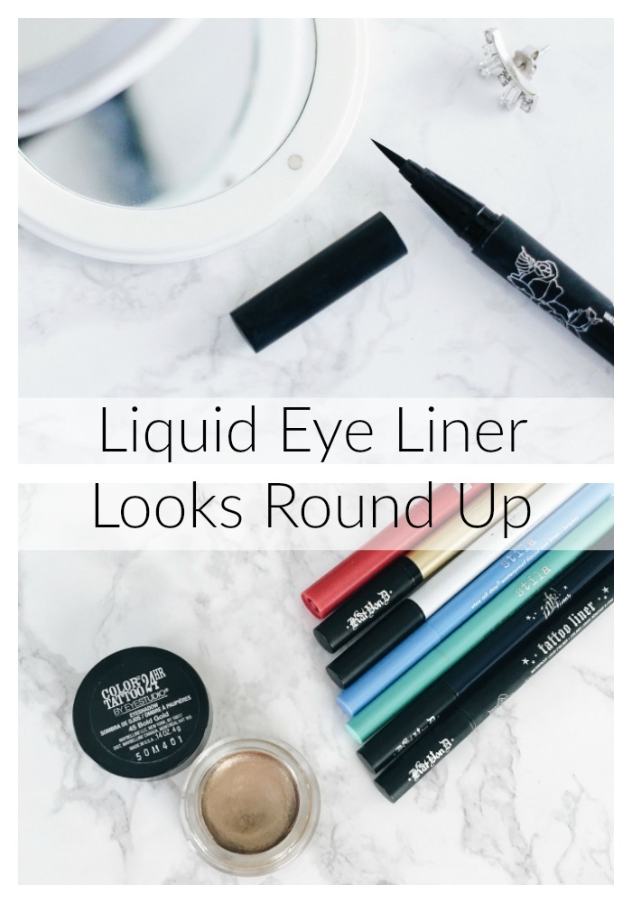 All the Liquid Eye Liners Round Up