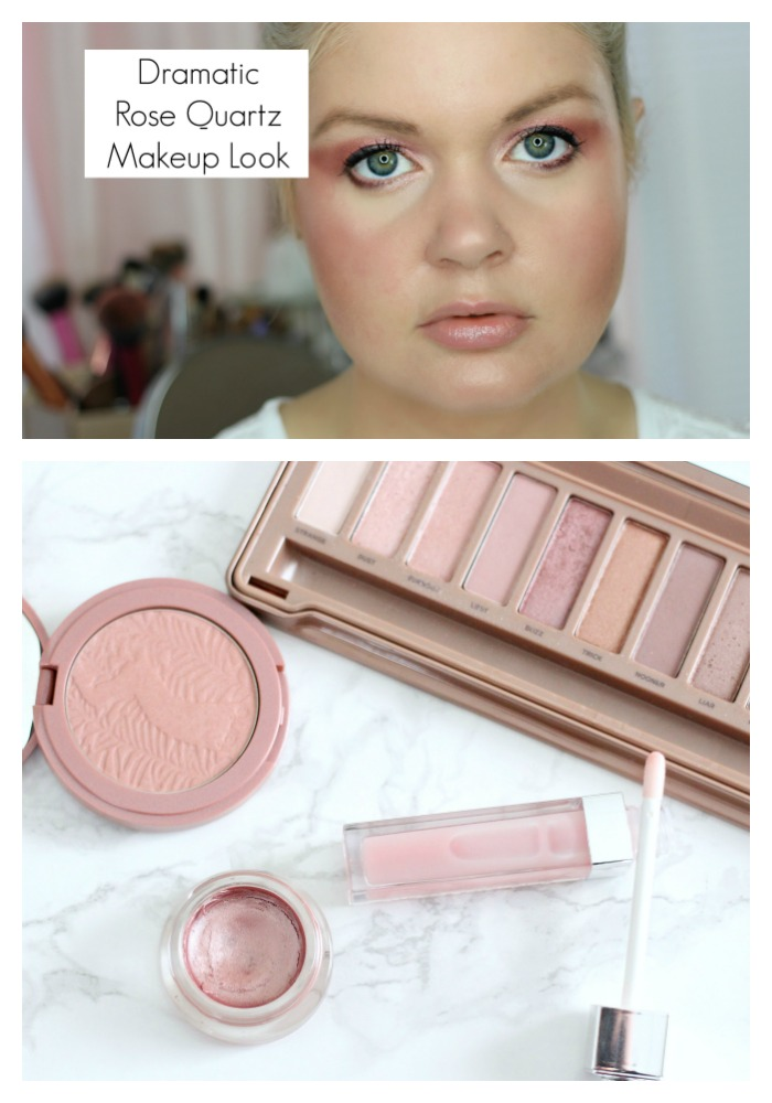 Spring Trends 2016: Dramatic Rose Quartz Makeup Look with Pantone Color of the Year
