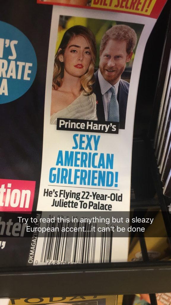 Prince Harry's Sexy American Girlfriend