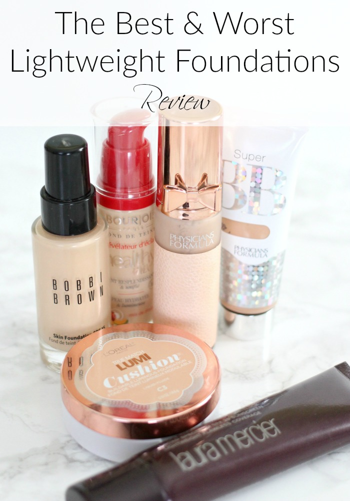The Best & Worst Lightweight Foundations Review
