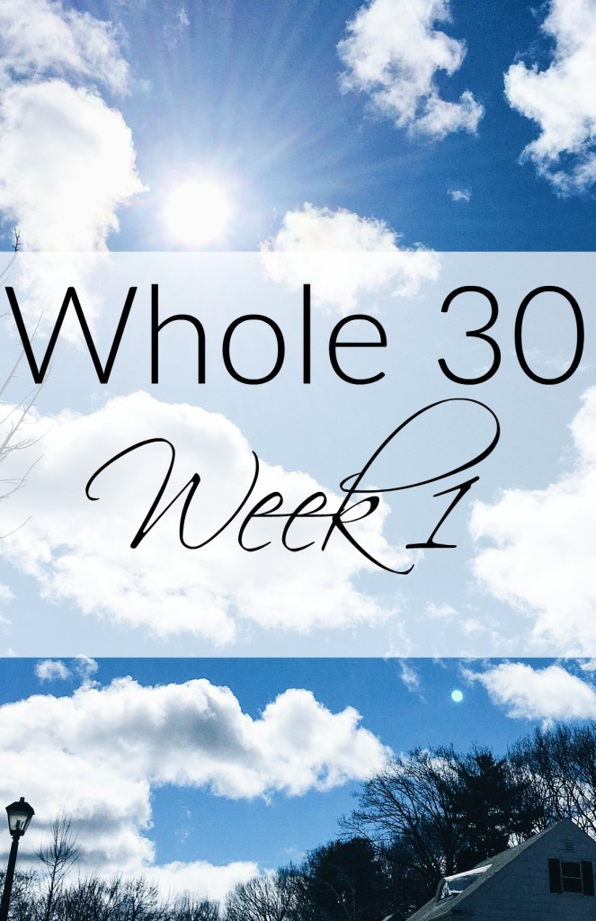 Whole30 Week 1: I Cheated but Didn't - EverydayStarlet.com
