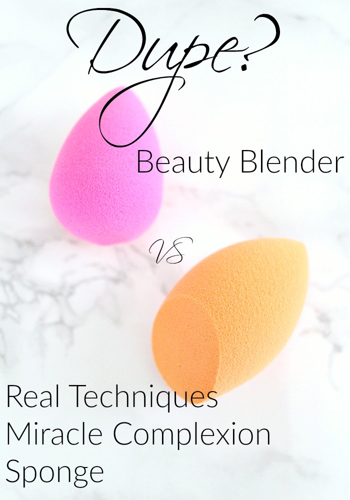 Dupe? Real Techniques Miracle Complexion Sponge vs the Beauty Blender | Review