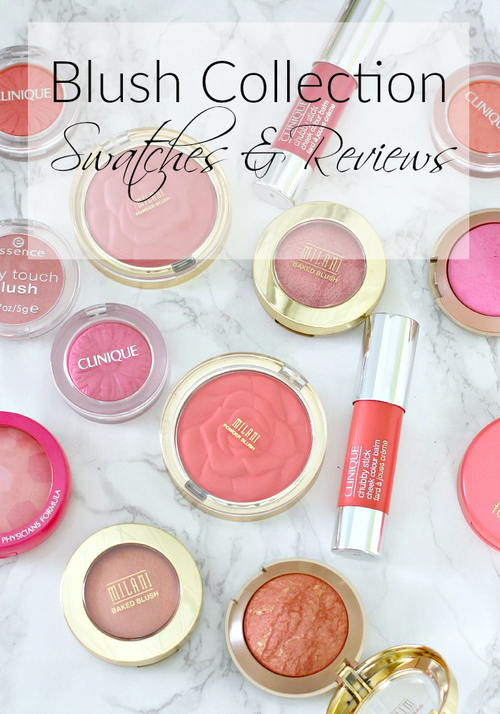 Blush Collection | Swatches & Reviews