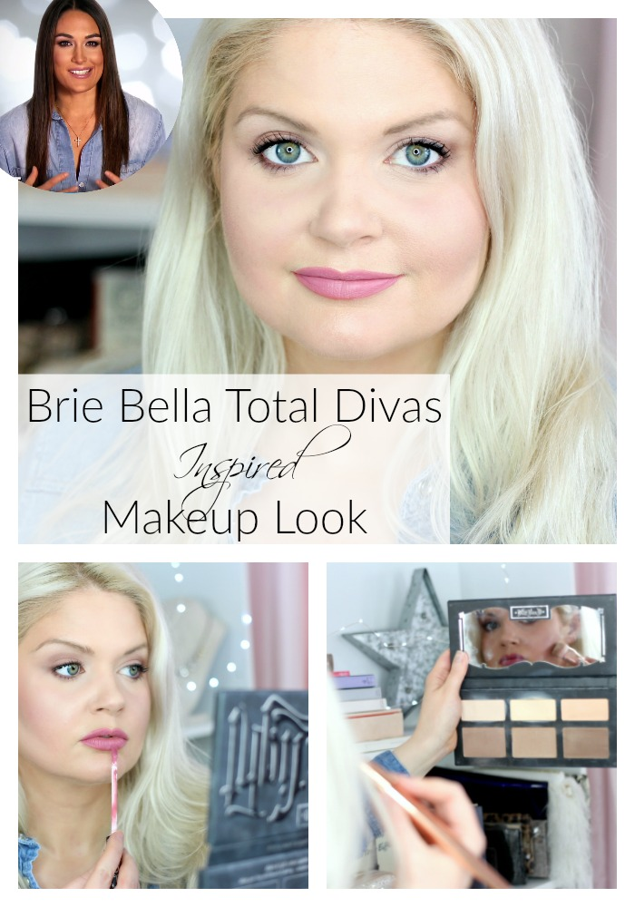 Brie Bella Total Divas Inspired Makeup Look using mostly Kat Von D Beauty vegan, cruelty free makeup for an everyday glam look
