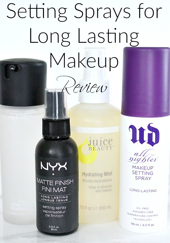 Setting Sprays for Long Lasting Makeup | Review