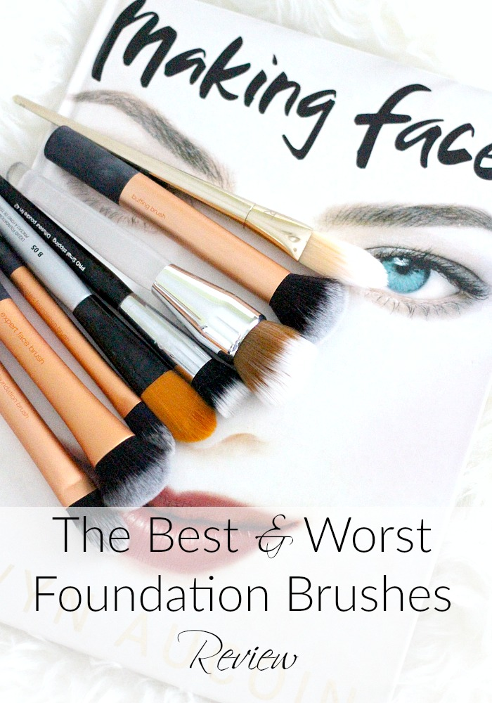 The Best & Worst Foundation Brushes | Review
