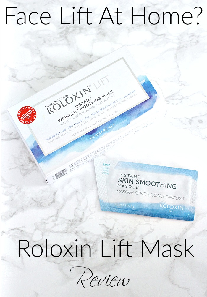 Face Lift At Home? Dermarche Labs Roloxin Lift Mask Review