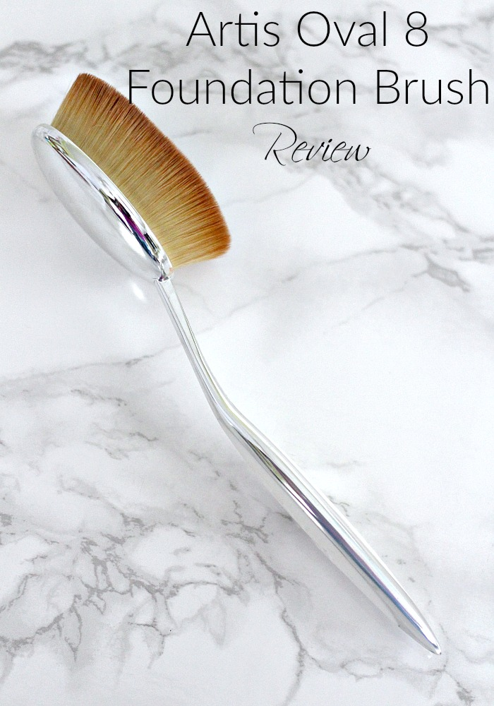 Artis Oval 8 Foundation Brush Review & First Impression