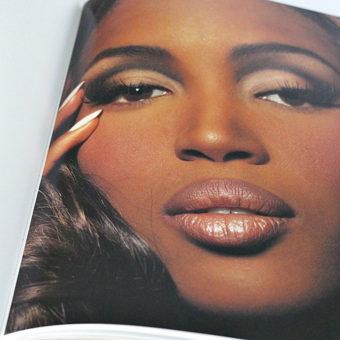 The Art of Makeup by Kevyn Aucoin Review, Naomi Campbell