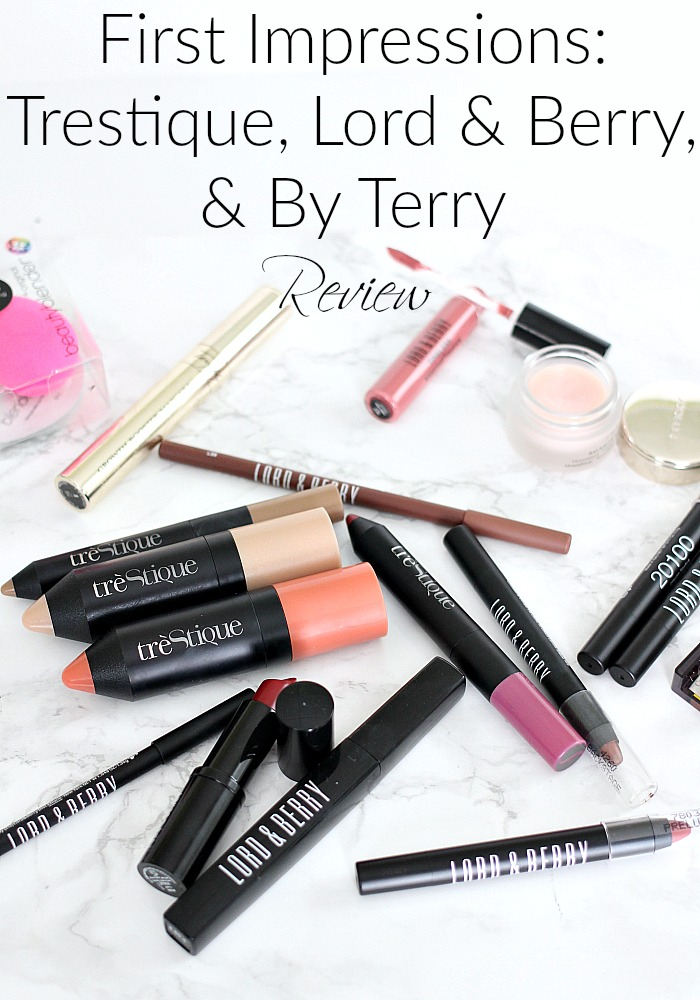 Full Face First Impressions | Trestique, Lord & Berry, By Terry Review, B Glowing UnBoxing