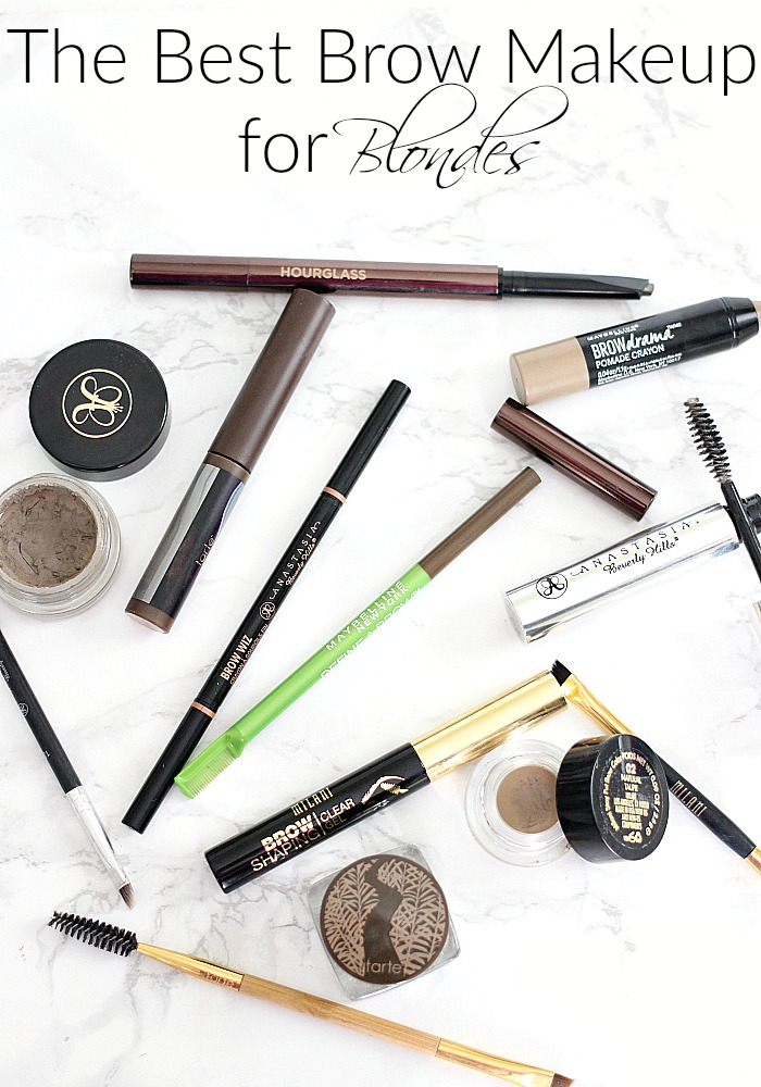 The Best Brow Makeup For Blondes Review