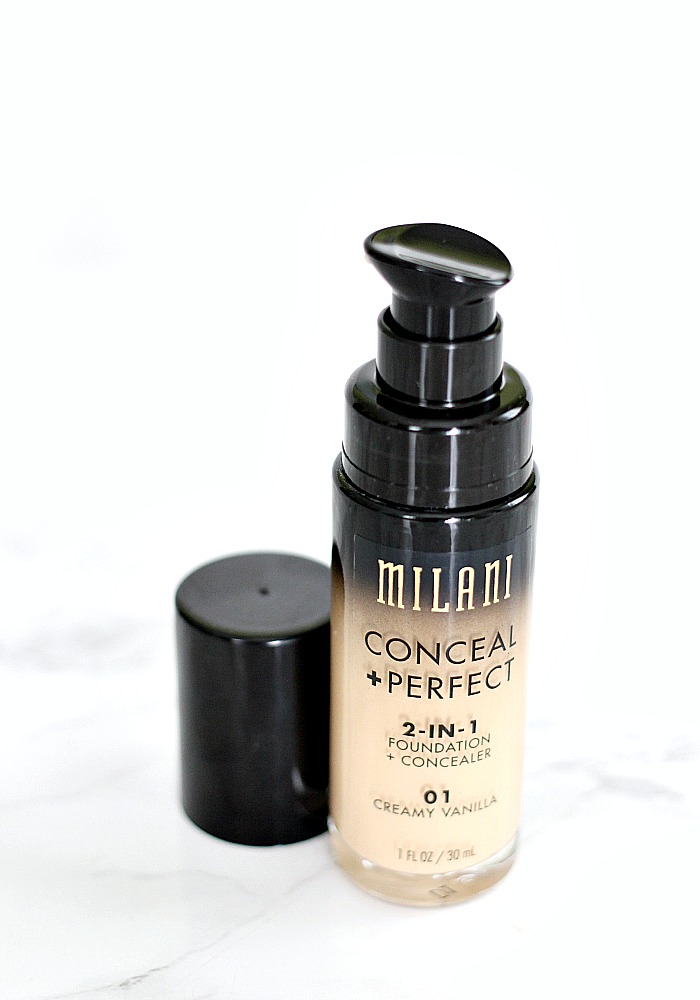 Milani Conceal + Perfect 2-in1 Foundation Review & First Impression