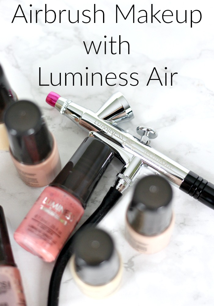 Glowing Skin Airbrush Makeup Look with Luminess Air