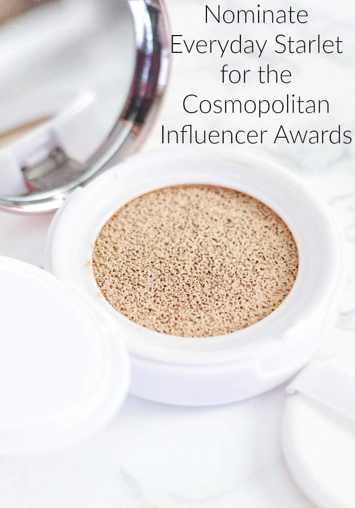 Nominate Everyday Starlet for the Cosmopolitan Influencer Awards