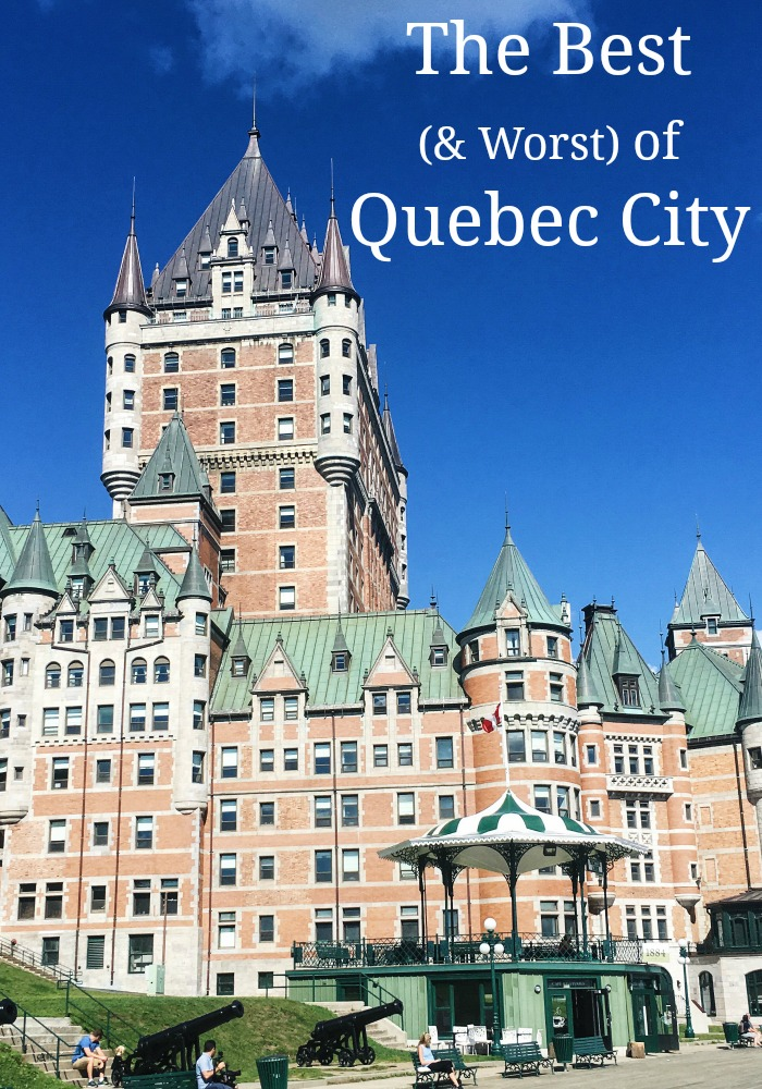 Fairmont Frontenac, Quebec City hotels