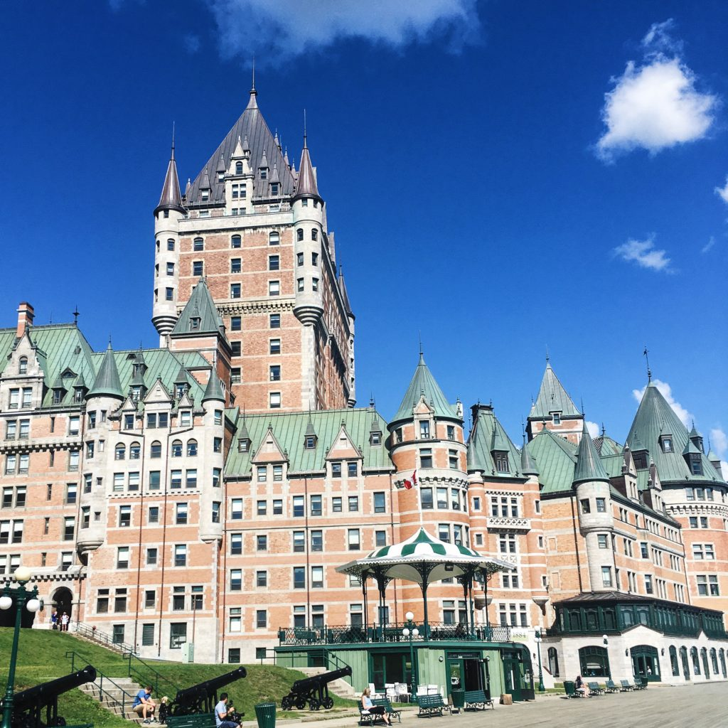 Fairmont Frontenac, Most photographed hotel in the world
