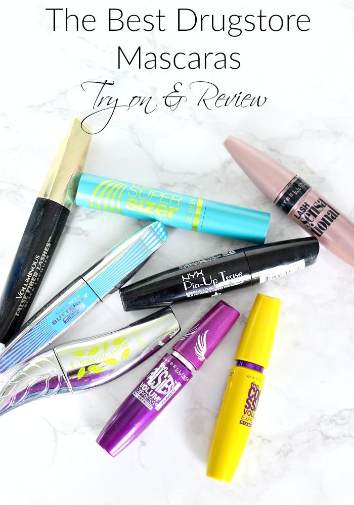The Best Drugstore Mascaras | Try on & Review, Mascara, Fiber Mascara, Best Lengthening Mascara, Fiber Lash Mascara, Best Mascara, Best Volumizing Mascara, Cover Girl Mascara, Mascara Reviews, Waterproof Mascara, Lengthening Mascara, Best Waterproof Mascara, Drugstore Mascara, Best Drugstore Mascara, Top Drugstore Mascara, Good Drugstore Mascara, Best Drugstore Waterproof Mascara, Best Mascara Drugstore, Cover Girl Mascara, Tati, GlamLifeGuru,