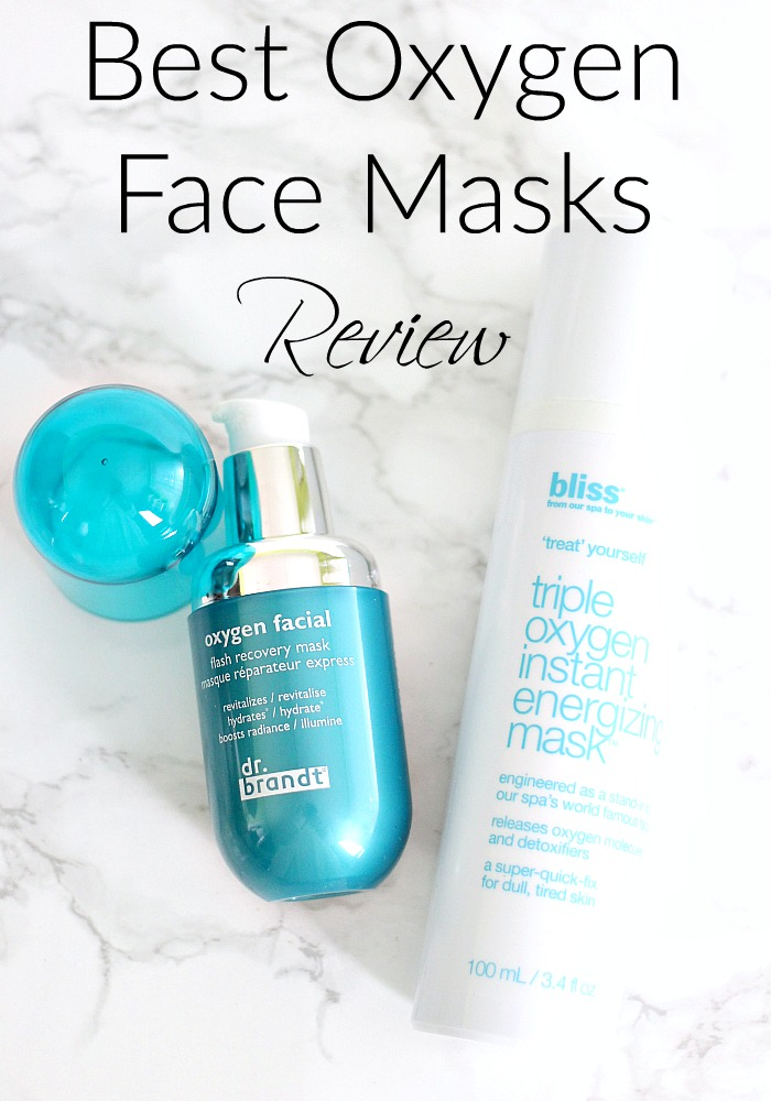 Best Oxygen Face Masks Review | Dr Brandt Oxygen Facial Mask vs Bliss Triple Oxygen Foaming Mask