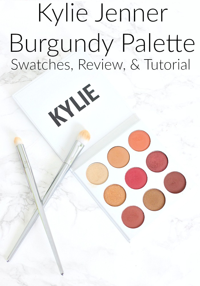 Kylie Jenner Burgundy Palette Swatches, Review, & Makeup Tutorial