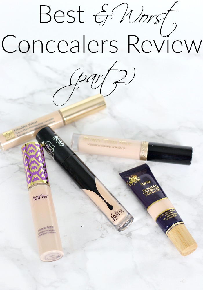 Best & Worst Concealers Review Part 2... & Best Concealer of All Time