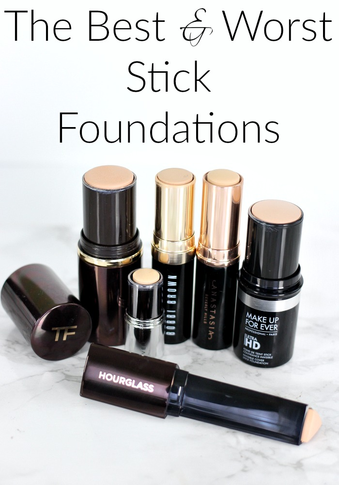 The Best & Worst Stick Foundations
