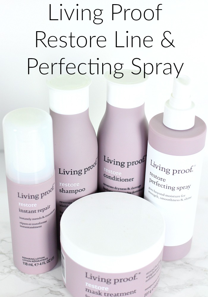 Living Proof Restore Perfecting Spray Launch & Campaign