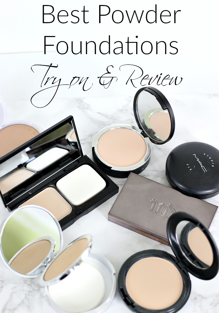 Best Powder Foundations | Try on & Review