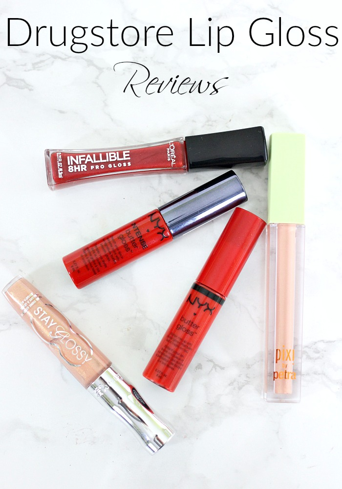 Drugstore Lip Gloss Reviews | The Search for a Long Lasting Drugstore Lip Gloss