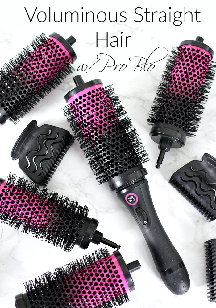 Pro Blo, Pro Blo Curl Me, Pro Blo Review, Pro Blo Tutorial, Pro Blo Curl Me Long Hair, Pro Blo Curl Me Long Hair Review, Detachable Hair Brush, Detachable Hair Brush Rollers, Detachable Hair Brush Set, Detachable Hair Brushes, Hair Volume, Voluminous Hair, Voluminous Straight Hair, Voluminous Hair Tutorial, Everyday Starlet, Sarah Blodgett,
